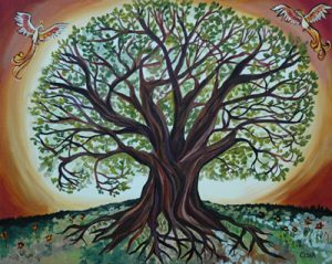 treeoflife 300x239 Kahve falında ağaç çıkması