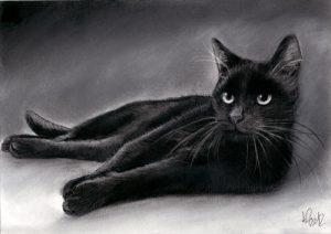 kahve falinda kedi 300x212 Fincanda kedi çıkmasıne anlama gelir?